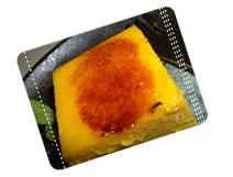写真:グリーンカフェのイチオシメニューはかぼちゃのプリン!