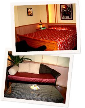 写真:沖縄市のホテル サンタクルスのビップルーム